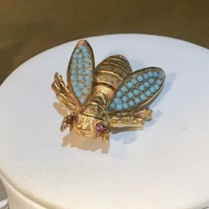 🎁VINTAGE Wasp/Bee Brooch